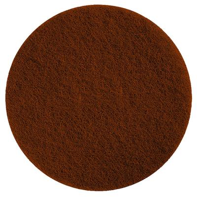 """Scrubble by ACS 71-17 17"""" Brown Stripping Floor Pad - Typ..."""