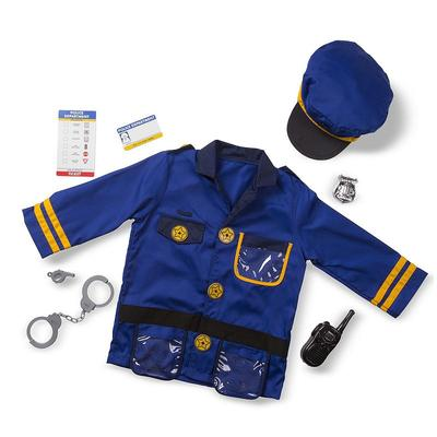 Melissa and Doug Police Officer Costume - Kids, Kids Unisex, Multicolor