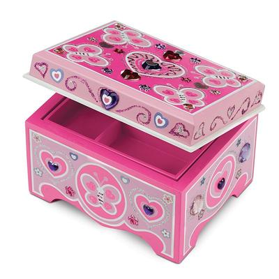 Melissa and Doug DYO Jewelry Box, Multicolor