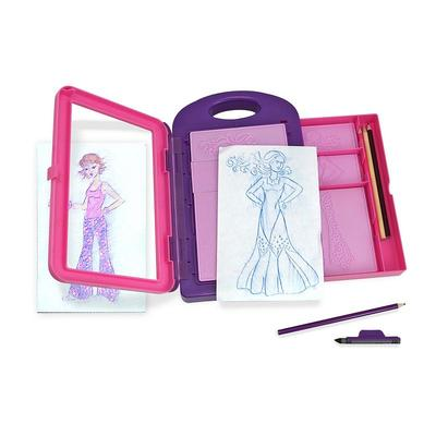 Melissa and Doug Fashion Design Activity Kit, Multicolor
