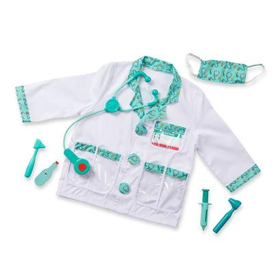 Melissa and Doug Doctor Costume - Kids, Kids Unisex, Multicolor