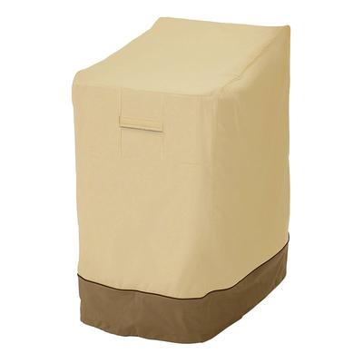Classic Accessories Veranda Stackable Chair Cover - Outdoor, Brown