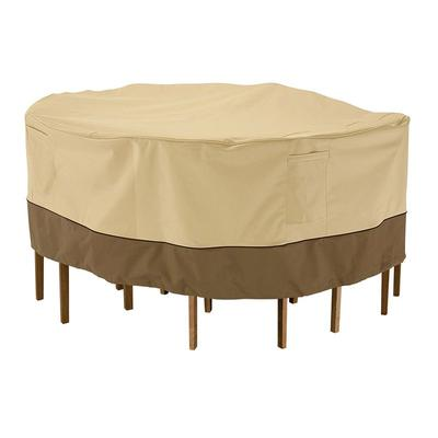 Outdoor Classic Accessories 62-in. Patio Table Chair Cover, Brown
