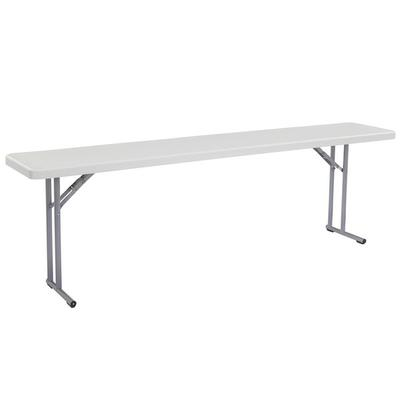 """National Public Seating BT-1896 18"""" x 96"""" Speckled Gray P..."""