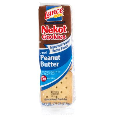Lance Nekot Vanilla Cookie with Peanut Butter Filling 20 ...