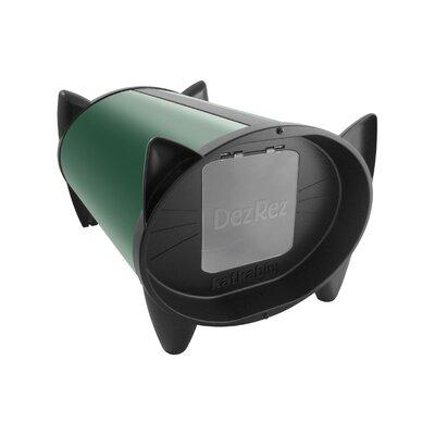 Katkabin Outdoor Cat House KKZF Doors: Single Door, Color: Forest Green