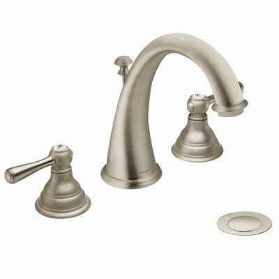 MOEN T6125 Double Handle Widespread Bathroom Faucet from the Kingsley Collection