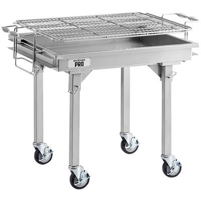 "Backyard Pro 30"" Stainless Steel Charcoal Grill with Remo..."