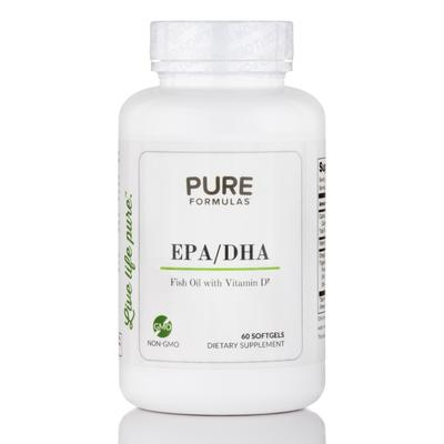 PureFormulas Essential Fatty Acids - EPA/DHA Fish Oil wit...