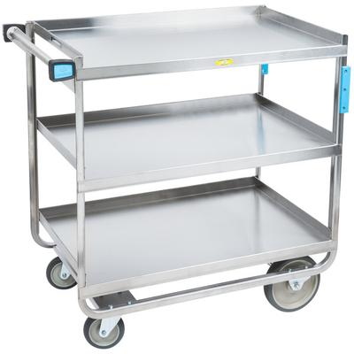 Lakeside 744 Heavy Duty Stainless Steel 3 Shelf Utility C...