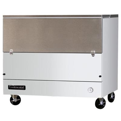 "Continental MC4-SCW 49"" 1 Sided Cold Wall Milk Cooler"