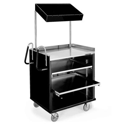 Lakeside 660 4 Shelf Stainless Steel Compact Vending Cart...