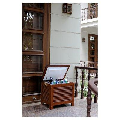 Merry Products 54.9 Qt. Outdoor Wooden Patio Cooler MPG-PC01