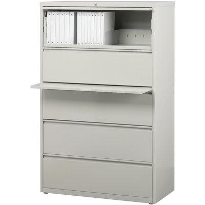 Lorell 5 Drawer Lateral Filing Cabinet Llr60551 Color Li