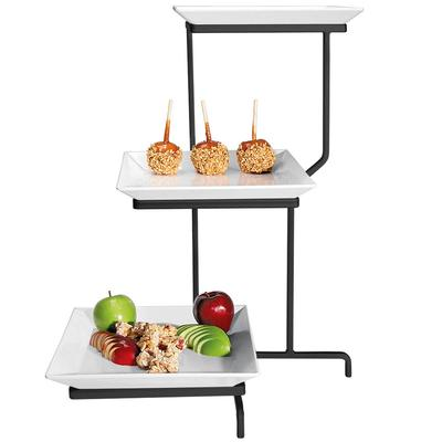 CAL-MIL PP2301-13 Prestige Black Three Tier Incline Displ...