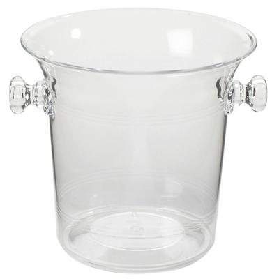 CAL-MIL 694 4.25 Qt. Clear Acrylic Large Ice Bucket / Win...