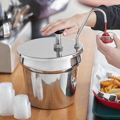 Update International Stainless Steel Condiment Pump with ...