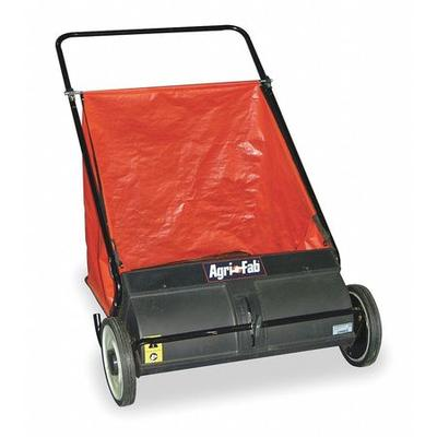Agri-Fab 45-0218 Push Lawn Sweeper, 26 In. Wide, 7 Cu. Ft.