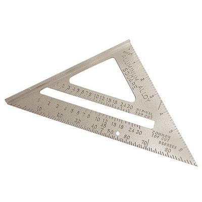 Rafter Angle Square,7 In,Aluminum WESTWARD 4MRX4