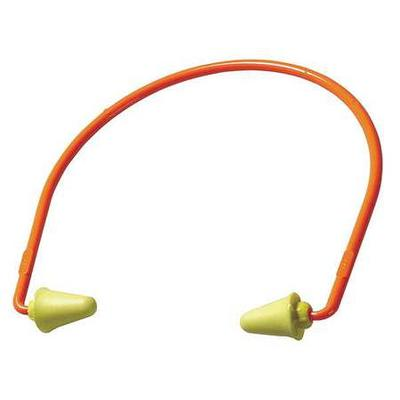 Hearing Band, 28dB Rated, Reusable, Tapered Shape, Yellow...
