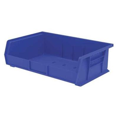 Blue Hang and Stack Bin, 60 lb Capacity, 30255BLUE, Akro-...