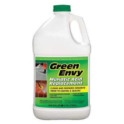 GREEN ENVY 610G1, Masonry Cleaner, 1 gal.