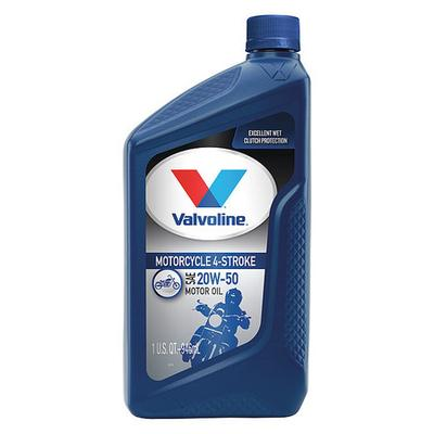 Valvoline 798152 Motor Oil, Motorcycle, 32 Oz, 20W-50