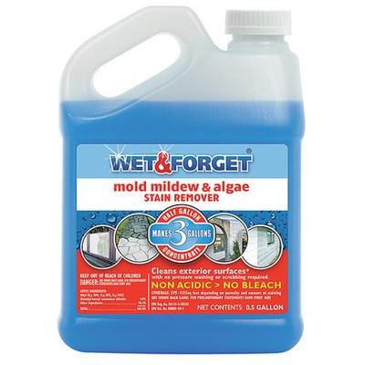 Wet & Forget 800033CA Liquid Stain Remover, 1/2G