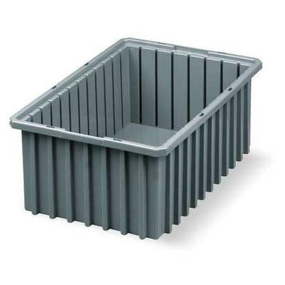 AKRO-MILS 33166GREY Divider Box, 16-1/2 x 10-7/8 x 6 In, ...