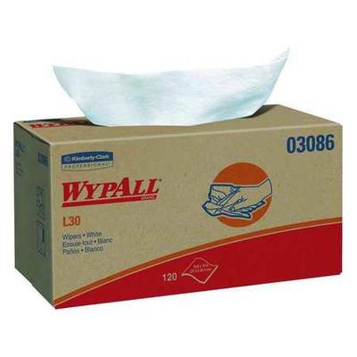 "Wypall Disposable Wipes, 9-1/2"" x 10"", 10 Pack, 120 Sheet..."