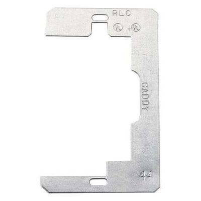 Caddy Company RLC Wiring Device Retainer,Silver