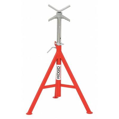 Ridgid 56662 V-Head Pipe Stand, 1/8 to 12 In.