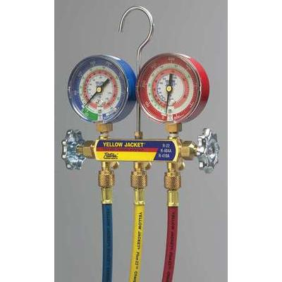 Mechanical Manifold Gauge Set, Yellow Jacket, 42024