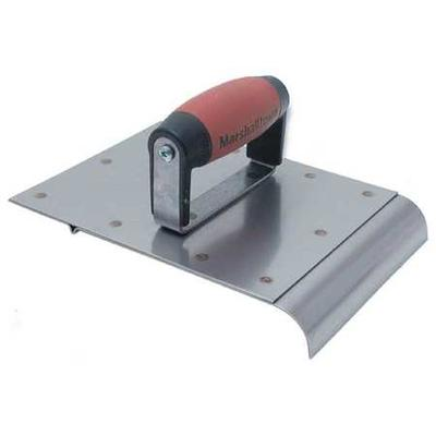 Marshalltown Trowel Safety Step Edger and Groover, Stainl...