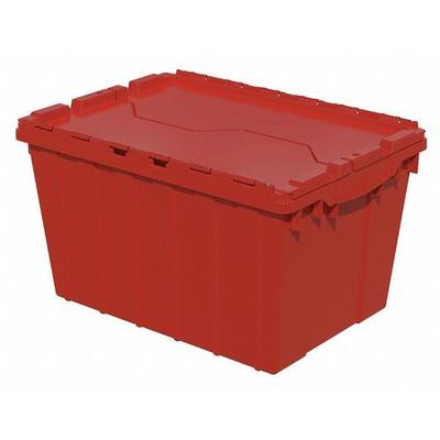 AKRO-MILS 39120RED Attached Lid Container, 1.62 cu ft, Red