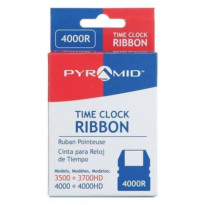 Pyramid Time Clock Replacement Ribbon,Black