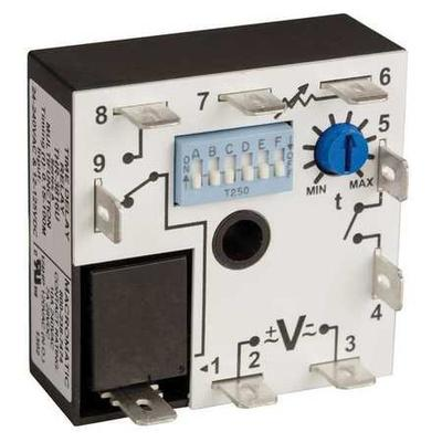 Macromatic THR-3816U Encapsulated Timer Rly, 100min, 9Pin...