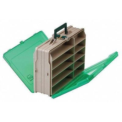 "Plano Molding Compartment Box, 13-1/2"" W x 10-1/8"" L x 4-..."