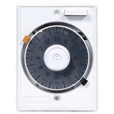Intermatic E1010 Timer, Mechanical, 120V, 15A, Wall Switch