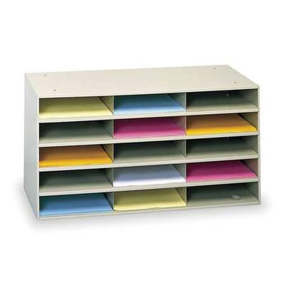 Durham 434-75 Literature Organizer, 15 Compartments
