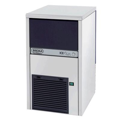 Eurodib CB249A 27.2H Top Hat Undercounter Ice Maker - 62 lb/Day, Air Cooled