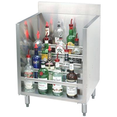 Advance Tabco CRLR-12 Stainless Steel Liquor Display Cabi...