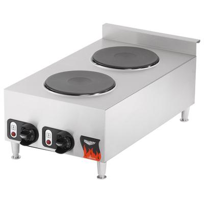 Vollrath 40739 Cayenne 2 Burner Counter Top Electric Hot ...