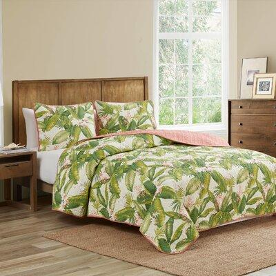 Tommy Bahama Home Aregada Dock Reversible Quilt Set by To...