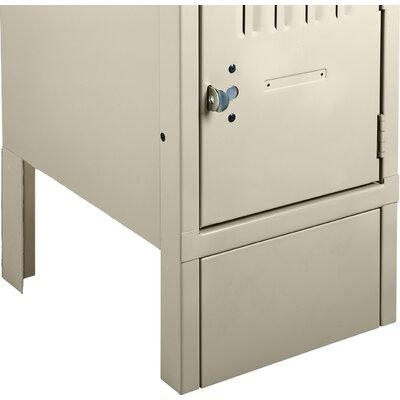 Tennsco Locker Front Base FB-12- Color: Champagne Putty