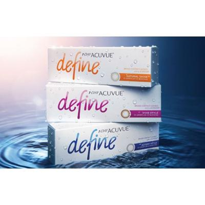 JOHNSON & JOHNSON 1-Day Acuvue Define Vivid cosmetic colo...