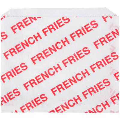 """Carnival King 5 1/2"""" x 4 1/2"""" Large Printed French Fry Ba..."""