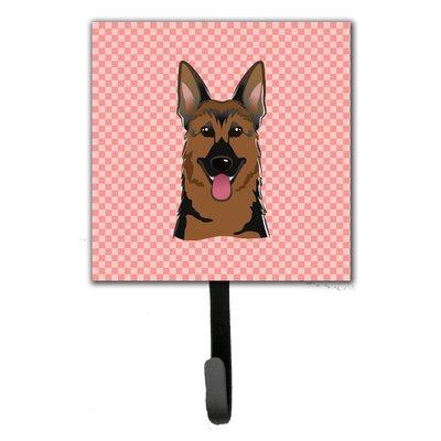 Caroline's Treasures Checkerboard German Shepherd Wall Ho...