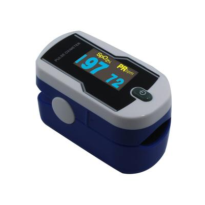 Concord Sapphire DELUXE Fingertip Pulse Oximeter with 6-way OLED Display, Carrying Case, Lanyard and Protective Cover