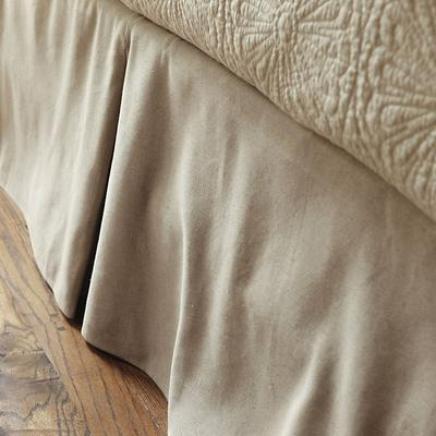 Ballard Designs Ballard Tailored Bedskirt Off White Twill...